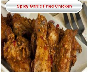 Spicy Garlic Fried Chicken For Only Php255 Available At Gerrys Grill While Stocks Last77559 77559