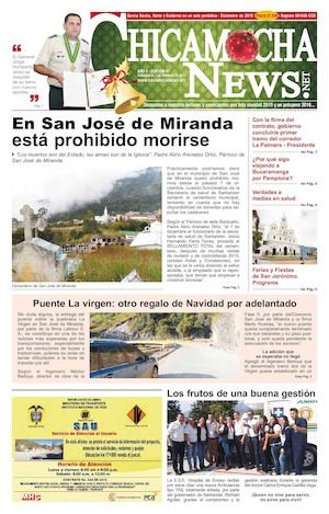 CHICAMOCHA NEWS N°67