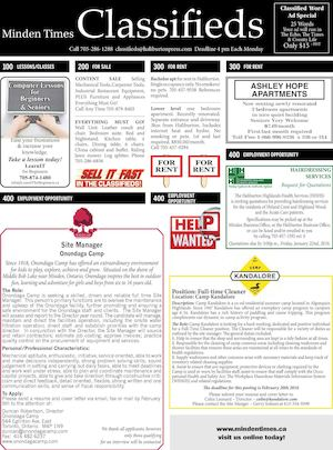 Classifieds January 21, 2016