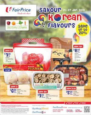 Usher Festive Joy With Savings At Fairprice Offers Valid From January 21 27 201677584 77584