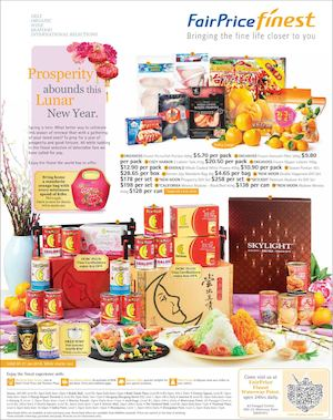 Prosperity Abounds This Lunar New Year At Fairprice Finest Offers Valid From January 21 28 201677590 77590