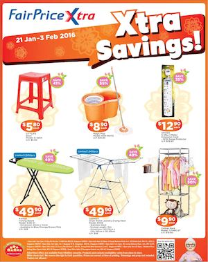 Xtra Savings On Homeware Fair At Fairprice Xtra Offers Valid From January 21 To February 3 201677592 77592
