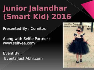 Junior Jalandhar Smart Kid ( Selfyee )