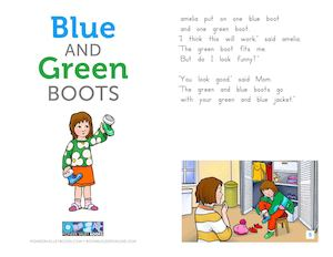 Amelia Juan Blue And Green Boots (1)