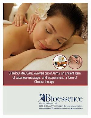 Reinvigorate Your Circulatory System With Our Shiatsu Masage At Bioessence77683 77683