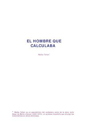 Calaméo - Copia De El Hombre Que Calculaba
