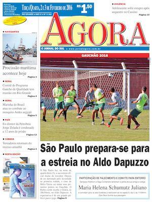 Calaméo - Jornal Agora - Edição 11362 - 2 e 3 de Fevereiro de 2016 35002412034b5