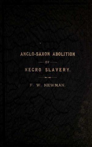 Anglo-Saxon abolition of Negro slavery
