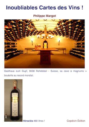 Calaméo inoubliables cartes des vins
