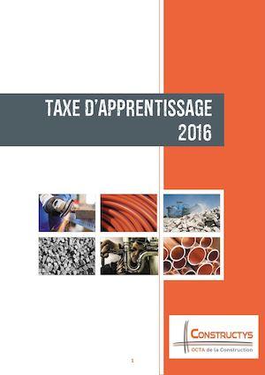 Calameo Taxe D Apprentissage 2016