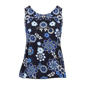 Red Herring Navy Floral Shell Top For Only Php1950 Available At Old Navy While Stocks Last 78501