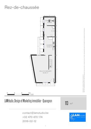 Lamstudio Design Et Marketing Immobilier Plans Quaregnon