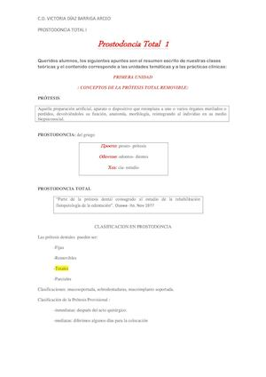 Calaméo - Apuntes Prostodoncia Primer Bloque