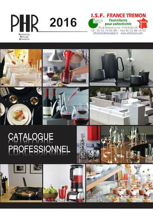 Catalogue PHR ISF 2016