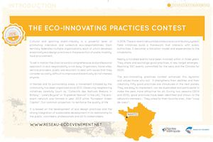 Good practices for ecoevents in Nantes territories