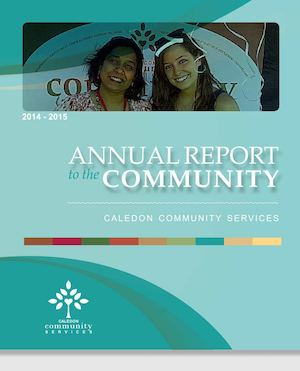 2014-2015 Caledon Community Services' Annual Report