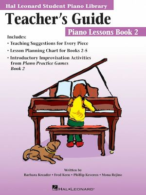 Calamo Teacher Guide Piano Lesson Book 2
