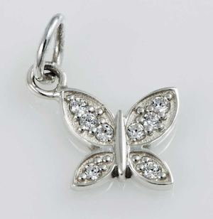 Stone Studded Butterfly Available At Filigrenasia While Stocks Last77692 77692