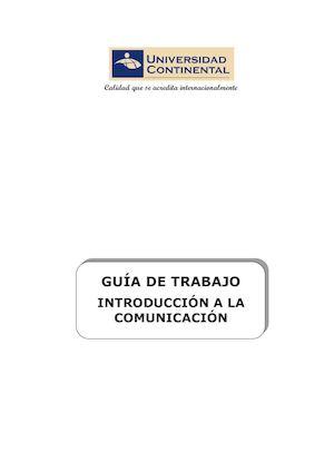 Calaméo - Material De Trabajo Introducción A La Comunicación 2016 I