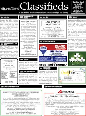 Classifieds March 17, 2016