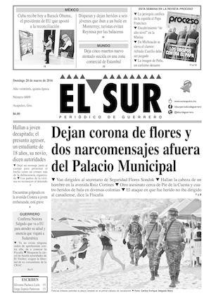 Calamo El Sur Domingo 20032016