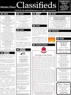 Classifieds March 24, 2016