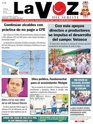Calaméo Sureste La Del Diario Voz 7gfSYg4Uq