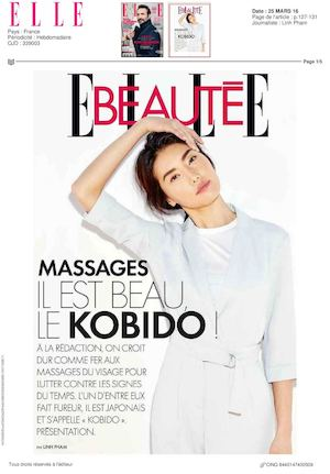 Soin-Massage du Visage «Ko Bi Do » vu par Elle