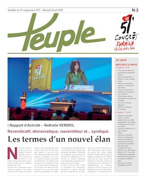 Le Peuple 20 avril
