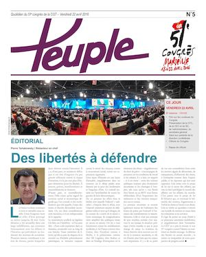 Le Peuple 5 22 avril