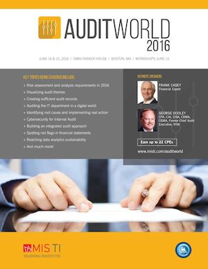 AuditWorld 2016 Brochure