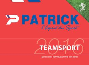 Patrick Teamwear - Catalogue 2016