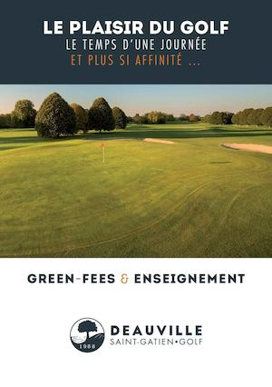 Pages 2 Volets A5 Golf Deauville Green Fees