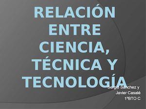 Calaméo Relación Entre Ciencia Técnica Y Tecnología