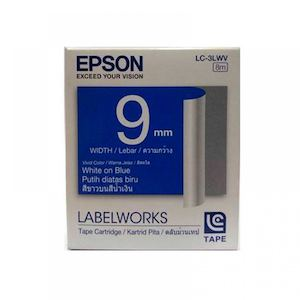 Epson White On Blue Labelworks Standard Lc Tape Cartridge For P567 50 At Dealspot Till June 30 201681432 81432