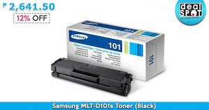 Samsung Mlt D101s Toner Black For P2641 50 Available At Dealspot Till June 30 201681453 81453