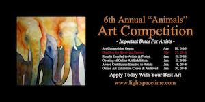 Animals 2016 Online Art Competition - Event Poster
