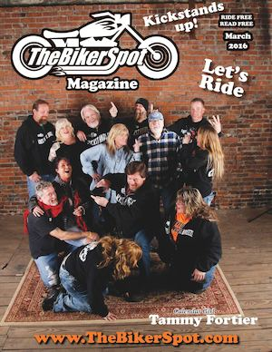 March 2016 TheBikerSpot Magazine