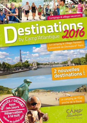Brochure 2016 Camp'Atlantique - 16 pages