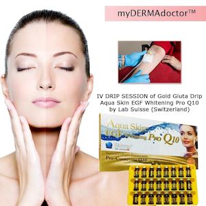 1 Iv Drip Session Of Gold Gluta Drip Aqua Skin Egf Whitening For P1599 25 At Dealspot Till June 30 81570