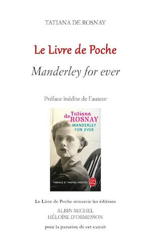 De Rosnay Manderley For Ever Extrait