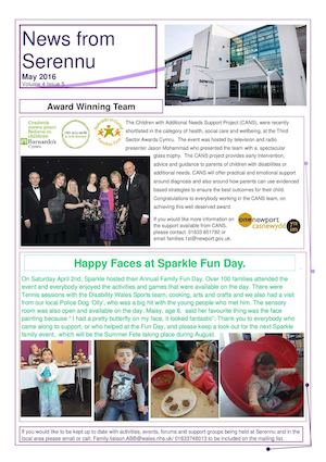 Serennu Newsletter May 2016