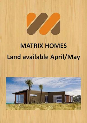 Matrix Homes - Land Catalogue (April/May 2016)