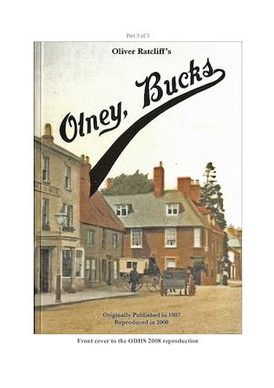 RATCLIFF'S OLNEY BUCKS, 1907, PART 3 OF 3