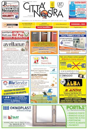 buy popular cdb48 f2218 Città Nostra Pordenone del 05.05.2016 n. 1516