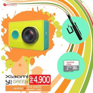 Get Your Own Xiaomi Yi Green Bundle A For Only Php4900 Available At Kimstore While Stocks Last82242 82242