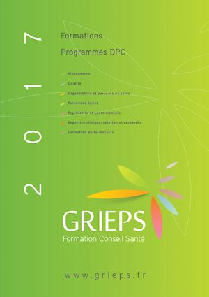 Catalogue 2017 Grieps