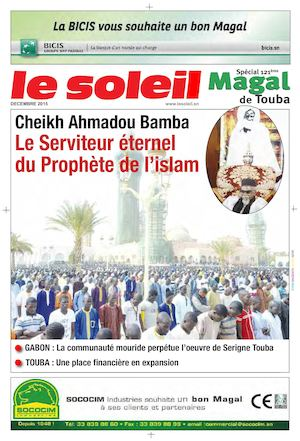 Cahier Special Magal 2015