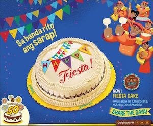 Try Our New Goldilocks Fiesta Cake Available In All Goldilocks Stores 82335