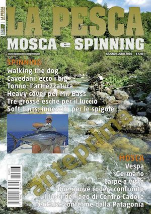 La Pesca Mosca e Spinning 3/2016 Preview